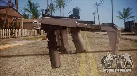 K10 from Battlefield Hardline para GTA San Andreas segunda tela