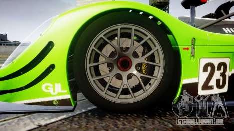 Radical SR8 RX 2011 [23] para GTA 4 vista de volta