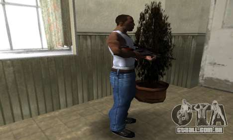 Red Flag Sniper Rifle para GTA San Andreas terceira tela