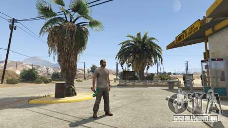 GTA 5 Diamond Pickaxe V v1.0 segundo screenshot