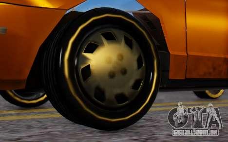 Ford Crown Victoria Taxi para GTA San Andreas traseira esquerda vista