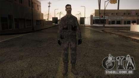 Army MARPAT para GTA San Andreas segunda tela