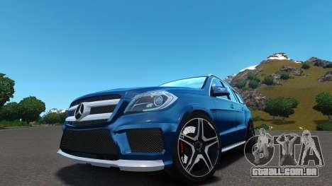 Mercedes-Benz GL 63 AMG para GTA 4 vista de volta
