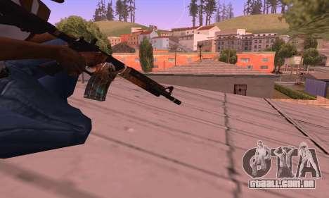 M4 Grifin para GTA San Andreas terceira tela