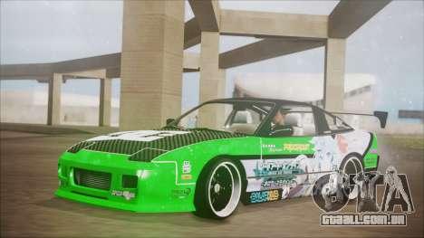 Nissan 240SX Sinon Itasha para GTA San Andreas
