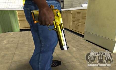 Yellow Deagle para GTA San Andreas segunda tela