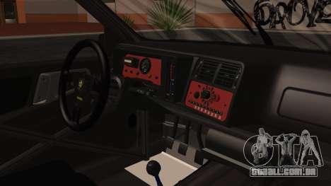 Ford Sierra RS500A para GTA San Andreas vista direita