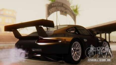 Porsche 911 RSR para GTA San Andreas esquerda vista