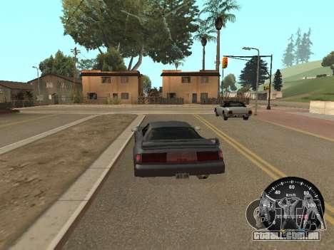 Velocímetro de GÁS 52 para GTA San Andreas