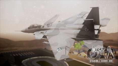 F-15S MTD Grabacr (8492nd) Ace Combat 5 para GTA San Andreas esquerda vista