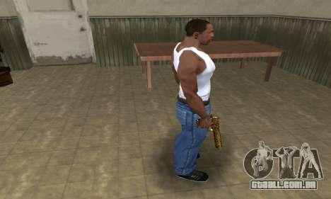 Microshem Deagle para GTA San Andreas terceira tela