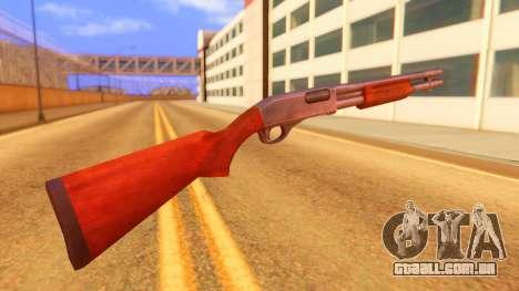 Atmosphere Shotgun para GTA San Andreas segunda tela