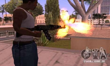 AK-47 Rebelde para GTA San Andreas segunda tela