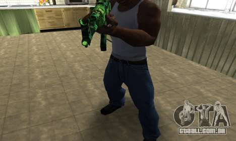 Ganja АК-47 para GTA San Andreas segunda tela