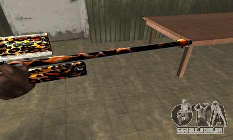 Leopard Sniper Rifle para GTA San Andreas segunda tela
