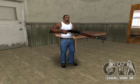 Very Big Shotgun para GTA San Andreas terceira tela