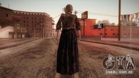 RE4 Isabel para GTA San Andreas terceira tela