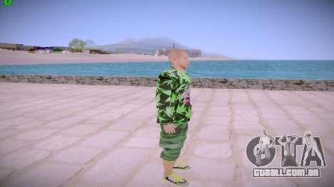 Huf Man para GTA San Andreas segunda tela