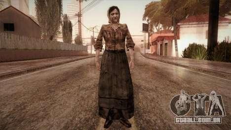 RE4 Isabel para GTA San Andreas segunda tela
