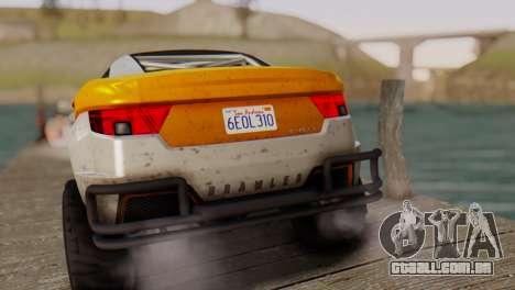 Coil Brawler Gotten Gains para GTA San Andreas