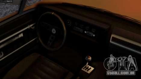 GTA 5 Invetero Coquette BlackFin para GTA San Andreas traseira esquerda vista