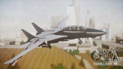 F-14B Bombcat VF-11 Red Rippers para GTA San Andreas