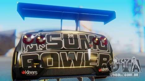 Nissan GT-R GT1 Sumo para GTA San Andreas vista traseira