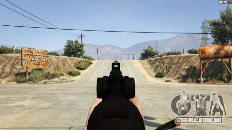 GTA 5 Scar-H sétima screenshot