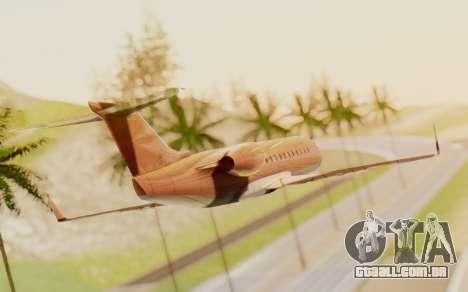 Buckingham Starjet v1.0 para GTA San Andreas esquerda vista