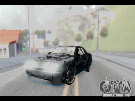 Elegy Lumus para GTA San Andreas interior