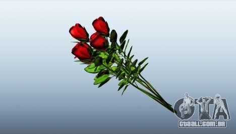 Um buquê de rosas para GTA 5