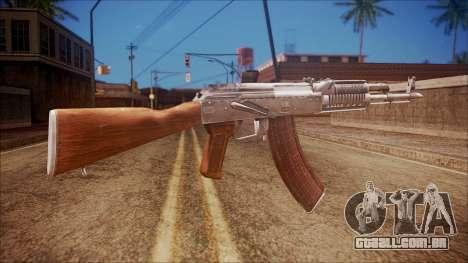 AK-47 v5 from Battlefield Hardline para GTA San Andreas segunda tela