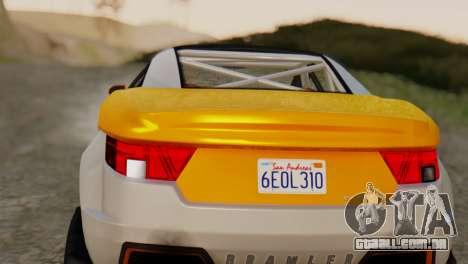 Coil Brawler Gotten Gains para GTA San Andreas vista direita