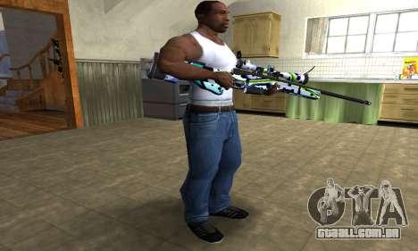 Marcken Sniper Rifle para GTA San Andreas terceira tela