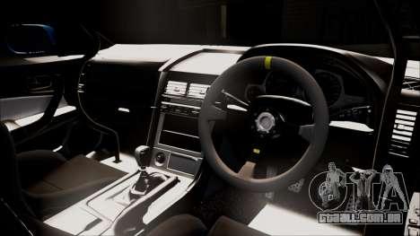 Nissan Skyline ER34 Duck Attack Team para GTA San Andreas traseira esquerda vista