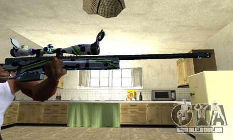 Marcken Sniper Rifle para GTA San Andreas segunda tela