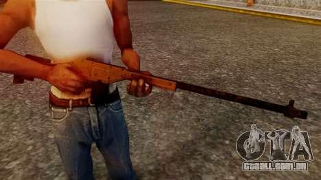 A Police Marksman Rifle para GTA San Andreas terceira tela