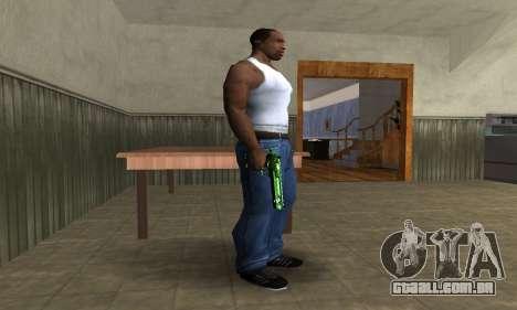 Green Clayn Deagle para GTA San Andreas segunda tela