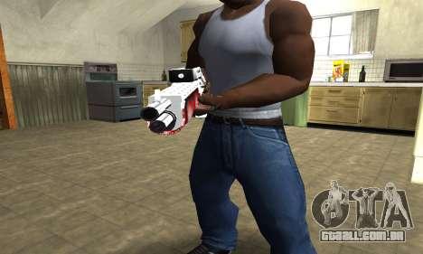 Blood Combat Shotgun para GTA San Andreas segunda tela