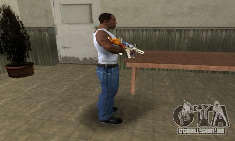 M4 Fish Power para GTA San Andreas terceira tela