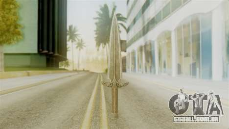 Steel Dagger para GTA San Andreas