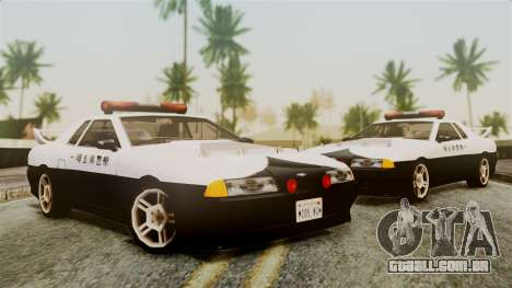 Elegy Saitama Prefectural Police para GTA San Andreas