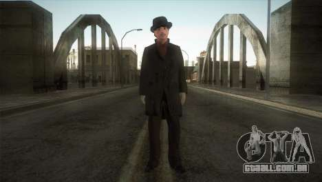 Sherlock Holmes v3 para GTA San Andreas segunda tela