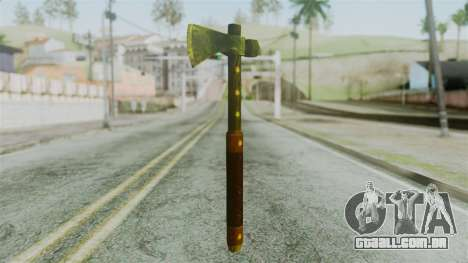 Tomahawk from Silent Hill Downpour para GTA San Andreas