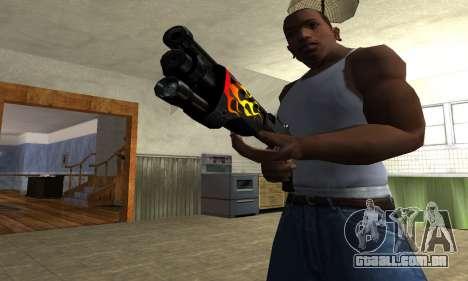 Flame Shotgun para GTA San Andreas segunda tela