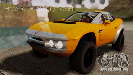 Coil Brawler Gotten Gains para GTA San Andreas interior