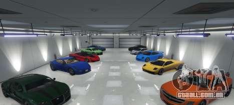 Single Player Garage para GTA 5