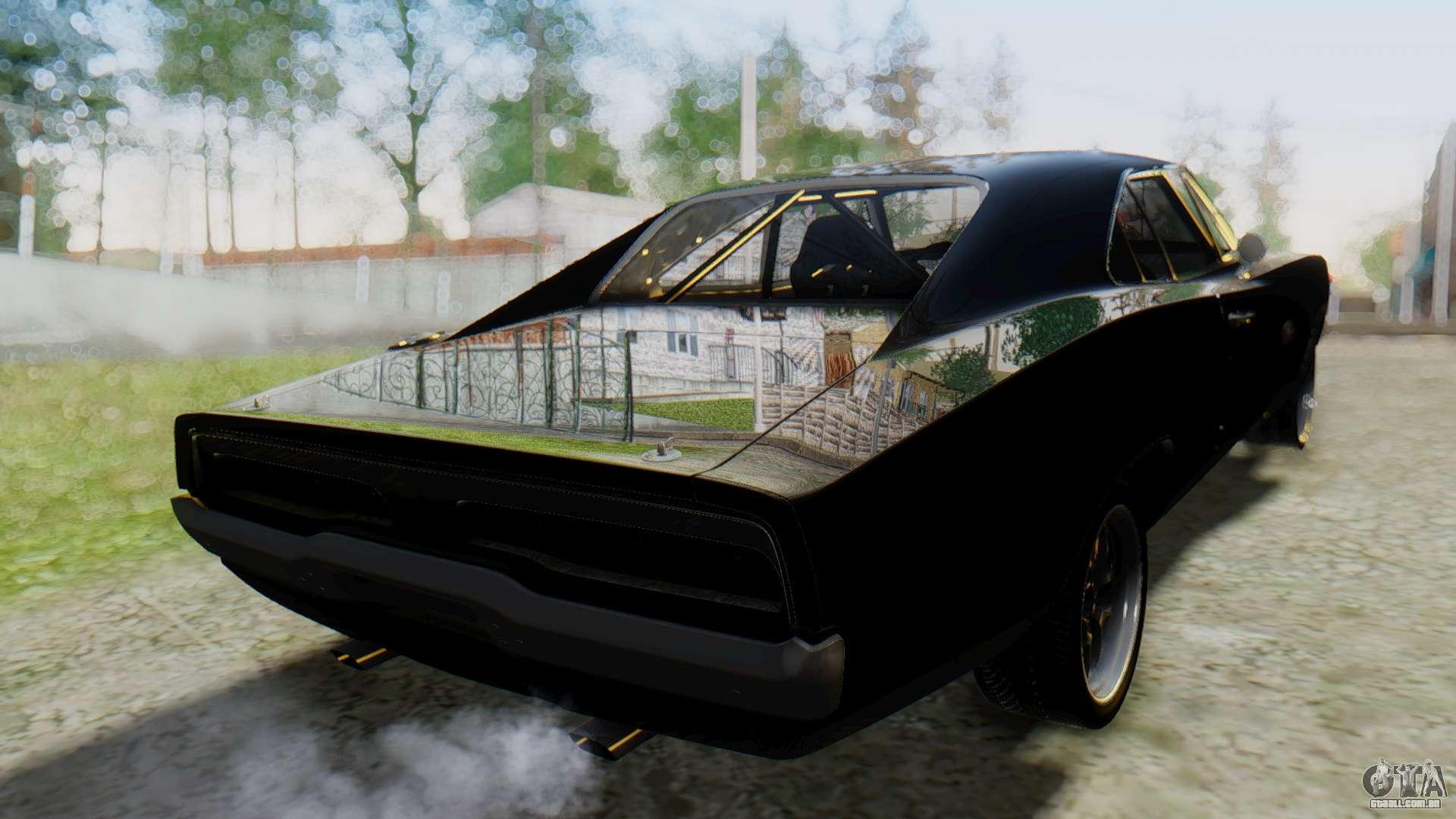 Dodge Charger Rt 1970 Fast Furious Para Gta San Andreas