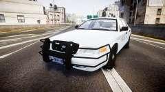 Ford Crown Victoria Bohan Police [ELS] unmarked para GTA 4