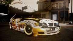 BMW 325t E46 LCI SAO Itasha para GTA San Andreas